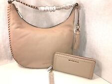 78cb6e66da11 item 1 MICHAEL Kors SET  LAURYN LG Shoulder Tote   Continental Wallet  Leather Oyster -MICHAEL Kors SET  LAURYN LG Shoulder Tote   Continental Wallet  Leather ...