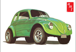 AMT-VW-Superbug-Gasser-Dune-Buggy-1-25-plastic-model-car-kit-new-1044