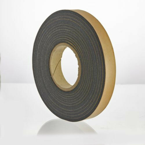 10x Expanding Foam Tape 8m Roll Weather Gap Seal Eaves Filler Draught Proof 15mm