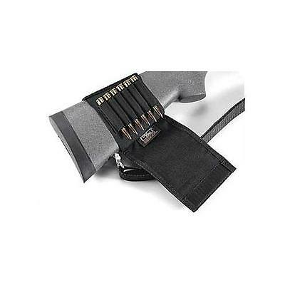 U/m Rifle Stock Shell Hldr W/flap Modern And Elegant In Fashion Hunting Ammunition Belts & Bandoliers