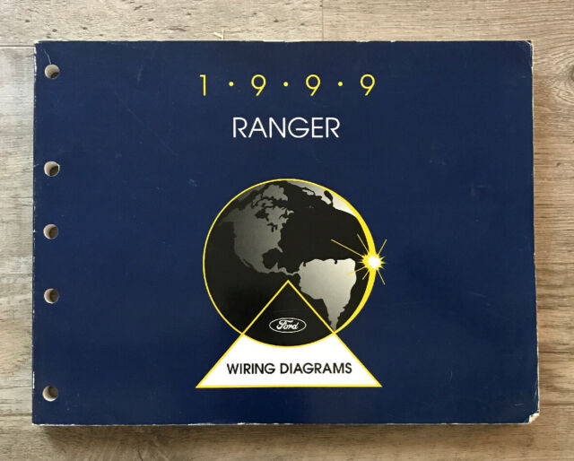 Ford Ranger 1999 Truck Wiring Diagrams Schematics Drawings