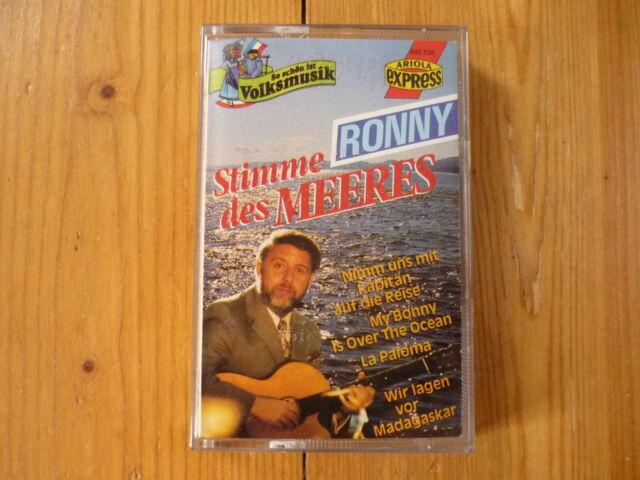 Ronny - Stimme Des Meeres ARIOLA RECORDS MC