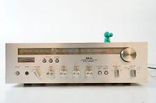 Akai AA-1020 Stereo Receiver Vintage Steuergerät Holz Alu gecheckt top 2x30W