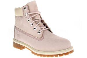 brand new 0f1ca fbab7 Details zu Timberland 6 IN PREM WP BT W - Damen Schuhe Schnürstiefel Boots  - C34992 - rosa