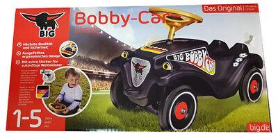Sparsam Big Bobby Car Classic Schwarz Deutschland Wm 2018 Neu Ovp Angenehm Im Nachgeschmack Kinderfahrzeuge Spielzeug
