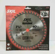 "Skil® Skilsaw® Carbide Teeth 7.25/"" Saw Blade 75740 FREE SHIPPING"