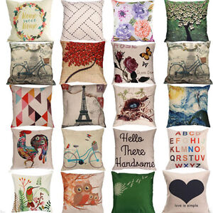 18-034-Cotton-Linen-Sofa-Bed-Throw-Pillow-Case-Home-Decor-Pillow-Case-Cushion-Cover