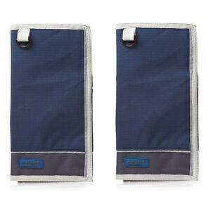 2 x gelert carte globale cas Copen Bleu étain mapcase protecteur de couverture sac en plastique  </span>