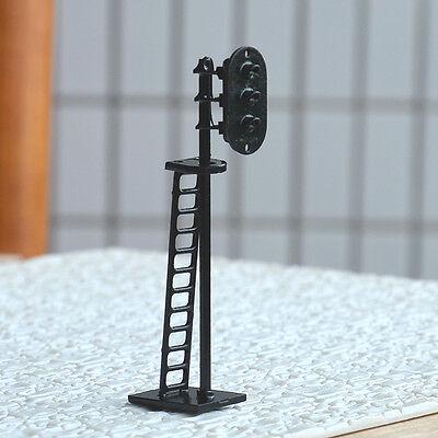 5 pcs HO Scale 6cm Railroad Signals G/Y/R 12V LEDs made