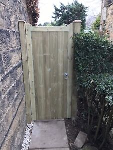 Solid-Flat-Top-Timber-Gate-Cancelled-Order-1-8m-x-890mm-Wide-Special-Price