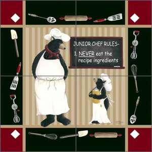 Lodge-Art-Tile-Backsplash-Jensen-Bear-Kitchen-Ceramic-Mural-DJ038
