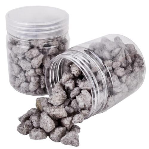 Steine Deko Granulat grob 300g grau Streudeko Tischdeko 1,33 EUR//100 g