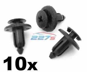10x-6mm-Plastic-Trim-Panel-Clips-Toyota-Yaris-Avensis-Corolla-etc-90467-06133