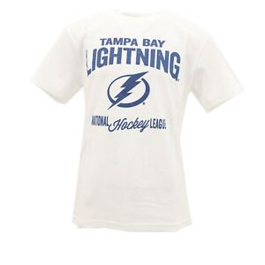 Tampa-Bay-Lightning-Official-NHL-Apparel-Kids-Youth-Size-Distressed-T-Shirt-New