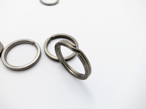 Titanium Alloy keyrings Key ring Hang Split Ring Keychain Quickdraw EDC