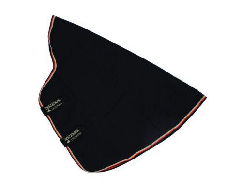 Horseware Rambo OPTIMO STABLE HOOD Neck Cover Med//Heavy 200g Black//Navy XXS-XL