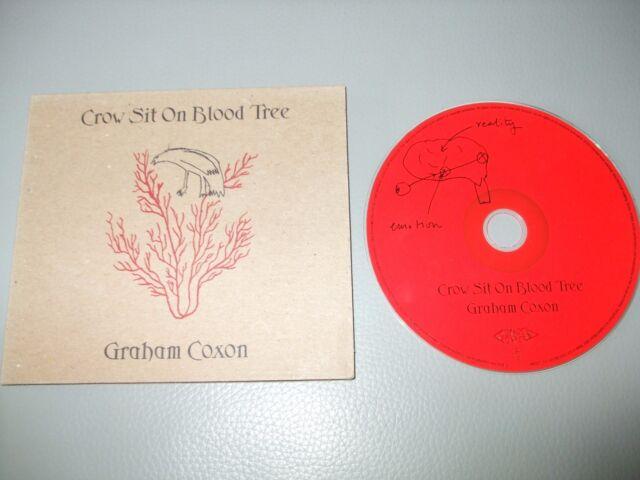 Graham Coxon - Crow Sit on Blood Tree (CD) 12 Tracks - Nr Mint - Fast Postage