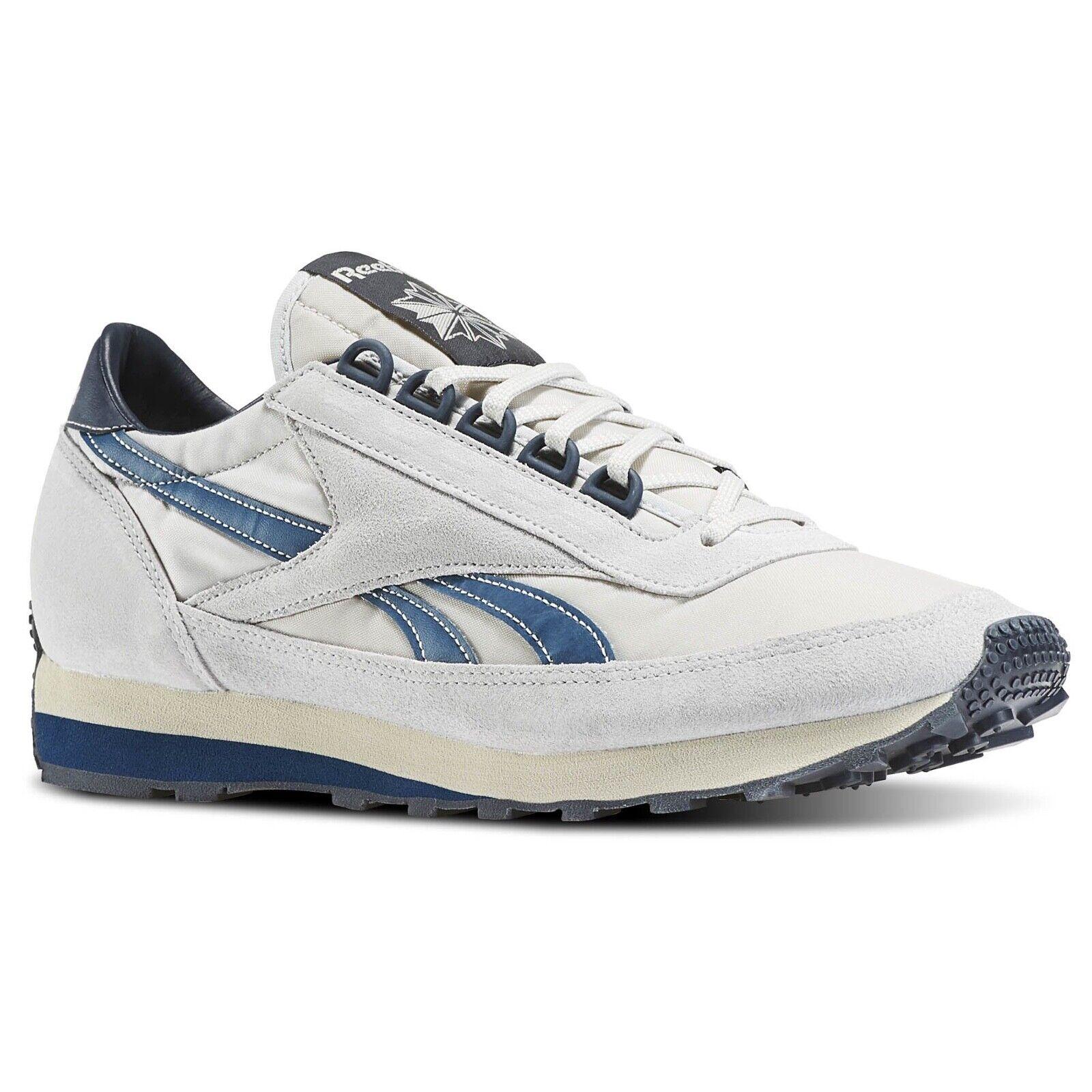 Nuevo hombres Zapatos Reebok Aztec WL gris Azul