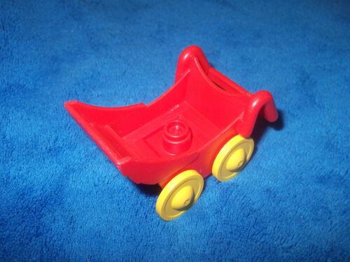 LEGO DUPLO PUPPENHAUS KINDERWAGEN SPIELPLATZ Rot für Babys Kind 2147c01