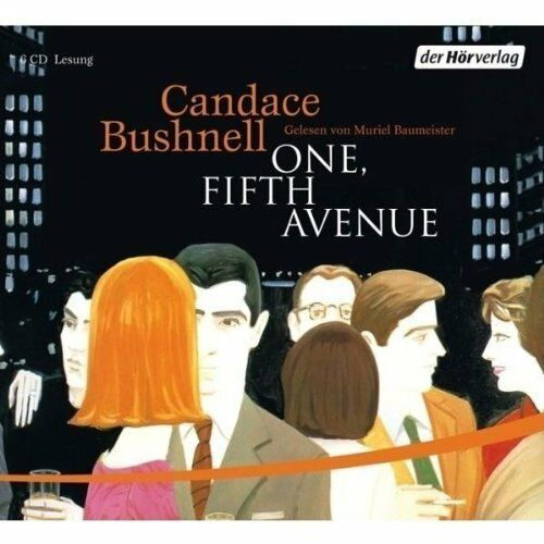 Hörbuch Candace Bushnell One Fifth Avenue (Muriel Baumerister) 6 CD`s