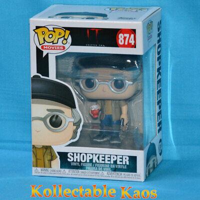 """IT 2 SHOPKEEPER 3.75/"""" POP VINYL FIGURE FUNKO STEPHEN KING 874 IN STOCK"""