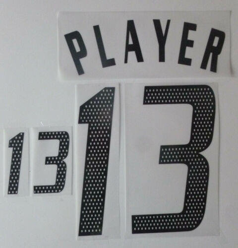 Set flock Nameset Home Maglia Germania Jersey shirt GERMANY 2002 2004