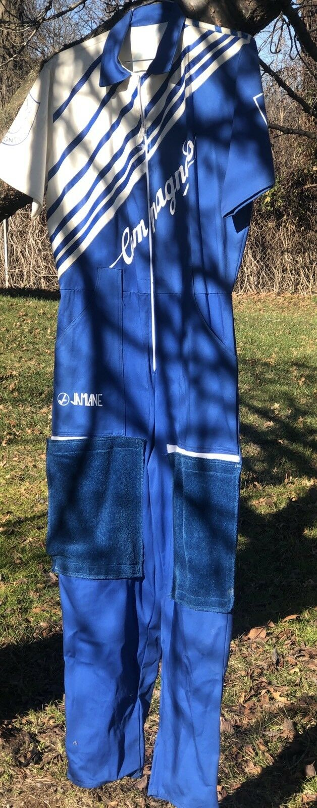Campy Very Rare Campagnolo Mechanic Suit USA made  NEVER WORN with Knee Towels  the best after-sale service
