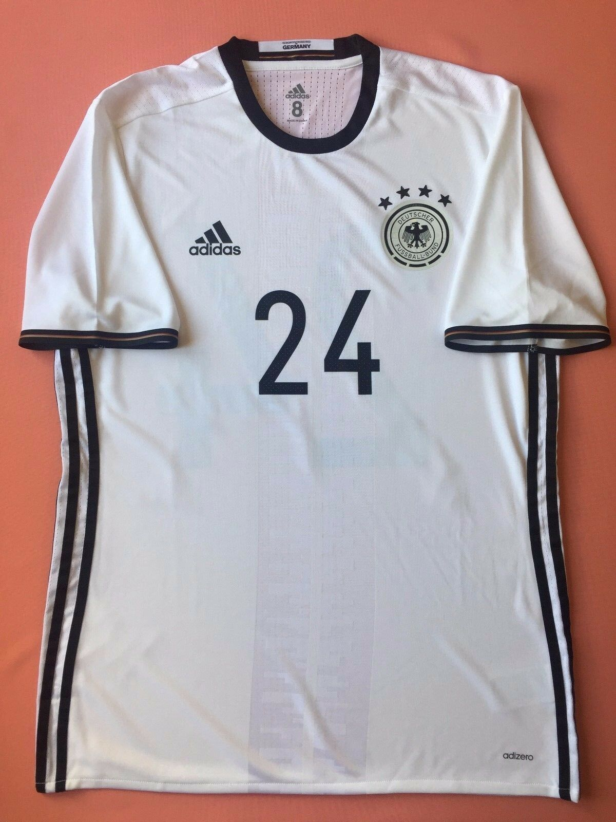 5+ 5 Geruomoy Soccer Jersey adidas Adizero Men's Men's Men's Authentic Home 2016 AI5015 af4