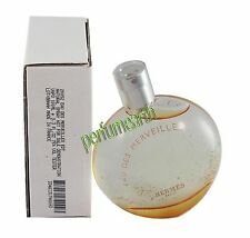 Eau Des Merveilles By Hermes Tster 3.3/3.4oz. Edt Spray For Women New In Tster