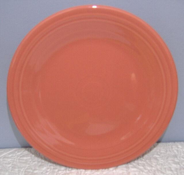 Fiestaware Flamingo Pink 10.5\  Dinner Plate Fiesta Retired Color & Fiestaware Flamingo Pink 10.5\