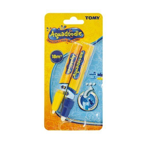 AquaDoodle Thick & Thin Pen Set - Mess Free Drawing Fun for Children aged 18