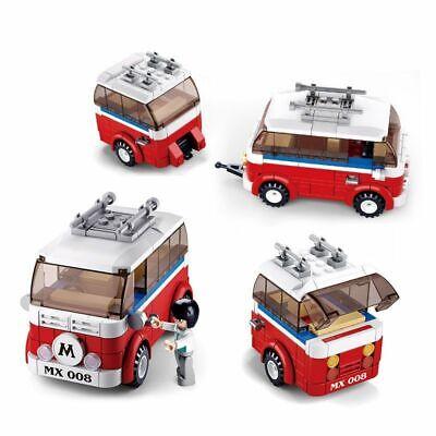 Technic Series 10220 1354 PCS Technology Series Volkswagen T1 Camper Compatible