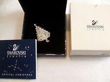 Rare  Signed  Year  2000  SWAROVSKI  Christmas  Tree  Pin