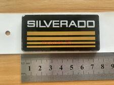 2x Yellow Chevy Silverado Emblems Side Bodycab Pickup Truck Badges Sign Symbol