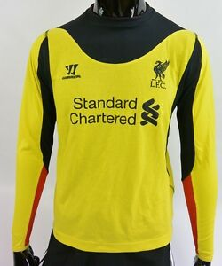 de4a52eaf32 The Reds Warrior Liverpool FC 2012-2013 Goalkeeper GK Shirt SIZE ...