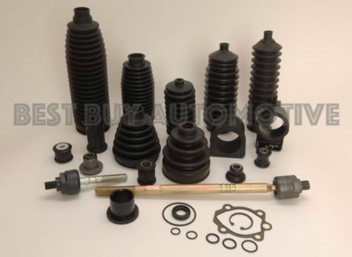 Mitsubishi Outlander 2007-2013 FWD CV Axle Inner /& Outer Boot 6 Piece Kit-Fits