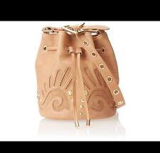 NWT Juicy Couture Mini Bucket Shoulder Bag Heritage YHRU4006 Camel