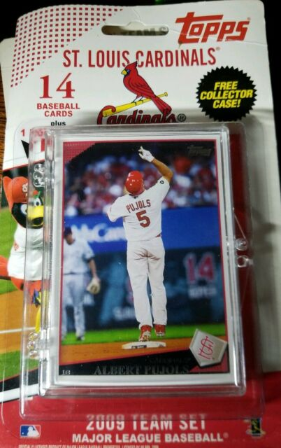 Topps 2009 Saint Louis Cardinals Team Set