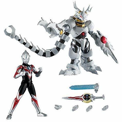 NEW Bandai Chodo Ultraman Orb Origin & GalacTron Set PVC Figure from Japan F S