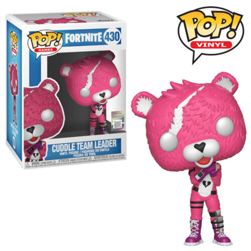 Fortnite Cuddle Team Leader Funko Pop Vinyl Figure Official Collectables