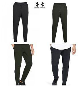 Under-Armour-Fleece-Jogginghose-Herren-Trainingsanzug-Bottoms-Gym-Training-Hose-Gr-S-M-L