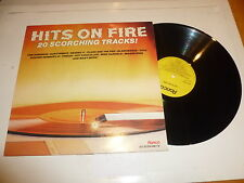 Hits On Fire - 1983 20-track UK compilation LP