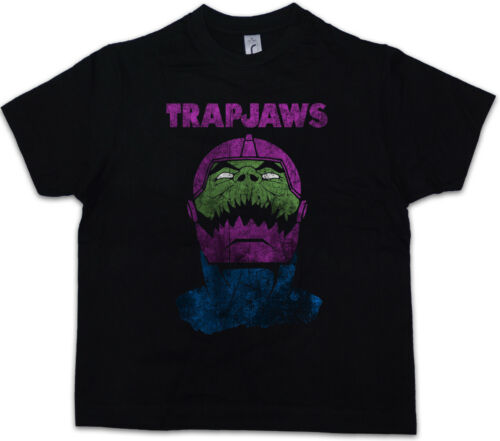 TRAPJAWS Kids Boys T-Shirt Trap Jaw Masters of the He Battle Cat Universe MOTU