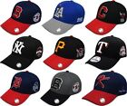 UNISEX MENS WOMENS CASUAL STRAPBACK initial LETTER BASEBALL CAP TRUCKER HATS