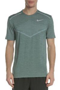 e71541d3 Nike TechKnit Ultra Running Top Mens Fir Solid Active Wear T-Shirt ...