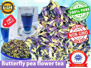 THAI-BLUE-BUTTERFLY-PEA-TEA-Benefits-Natural-Remedy-Loose-Dried-Flowers-healthy