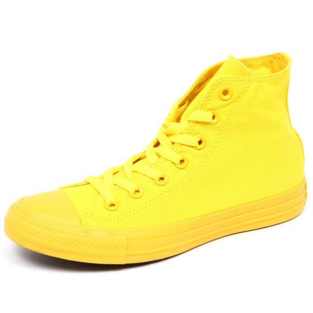 4355429bd0a Converse Chuck Taylor All Star Hi SNEAKERS Textile Aurora Yellow ...