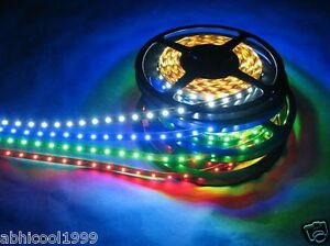 Finest-5-Meter-LED-SMD-STRIP-Light-RGB-White-Blue-Green-Red-Yellow-12V-DC