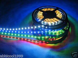 Finest 10 Meter LED SMD STRIP Light RGB/ White/ Blue/Green/ Red/Yellow (12V DC)