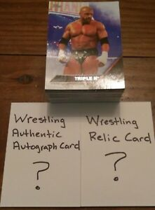 Wrestling-Grab-Bag-80-Card-Lot-With-Relic-amp-Authentic-Autograph-WWF-WWE-WCW-TNA